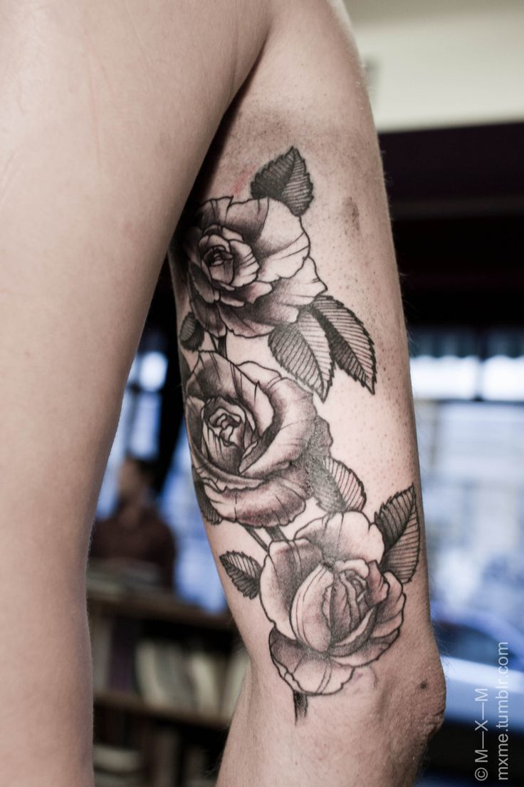 60 rose tattoos best ideas and designs for 2018 for Black and gray rose tattoos