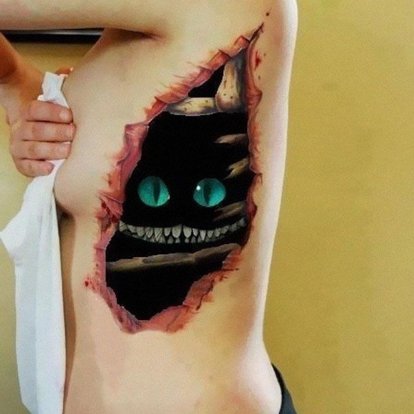60 Best 3D Tattoos – Meanings, Ideas and Designs for 2017