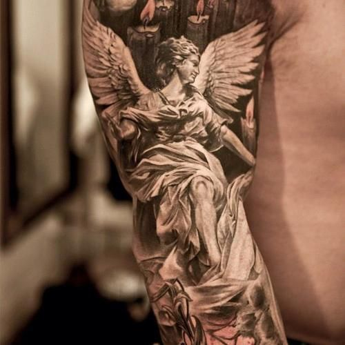 60 Best Angel Tattoos Meanings Ideas And Designs For 2020