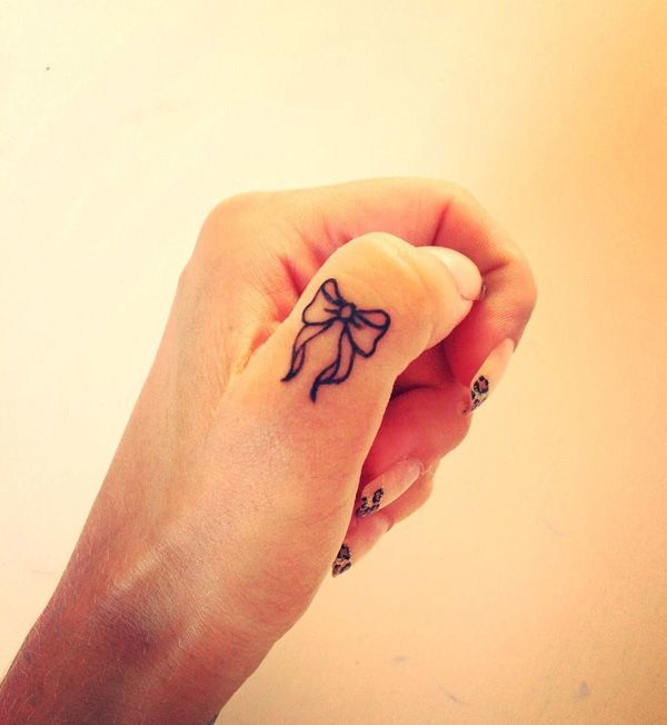 60 sexy bow tattoos meanings ideas and designs for 2016 for Bow tattoos on ankle