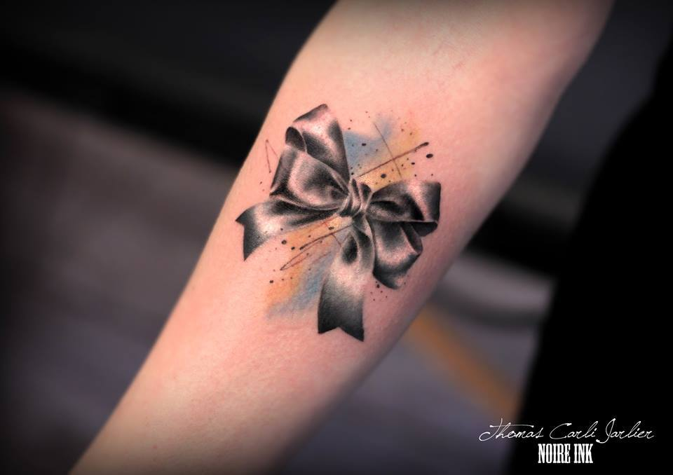 60 sexy bow tattoos meanings ideas and designs for 2016 for Bow tattoos meaning