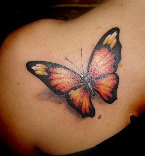 6bb5c8bc6 60 Best Butterfly Tattoos – Meanings, Ideas and Designs 2019