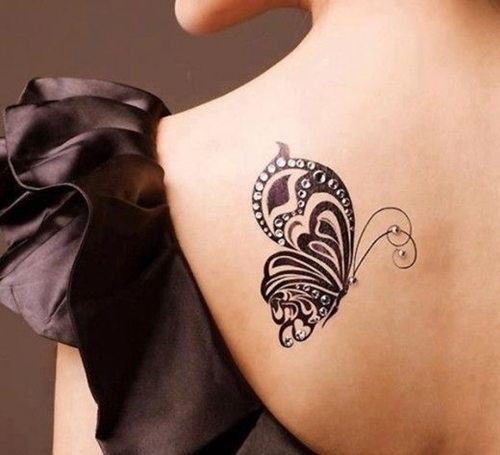 60 best butterfly tattoos meanings ideas and designs 2018. Black Bedroom Furniture Sets. Home Design Ideas