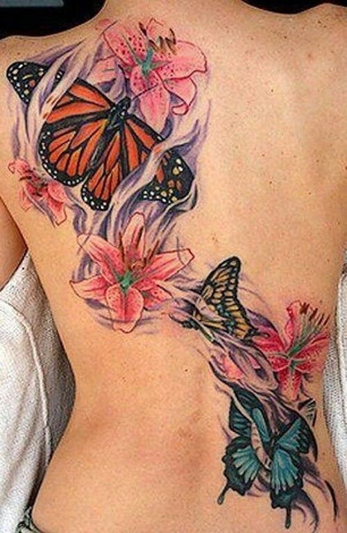 073b14612acd4 60 Best Butterfly Tattoos – Meanings, Ideas and Designs 2019
