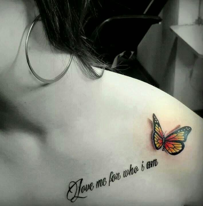 d24444244 60 Best Butterfly Tattoos – Meanings, Ideas and Designs 2019