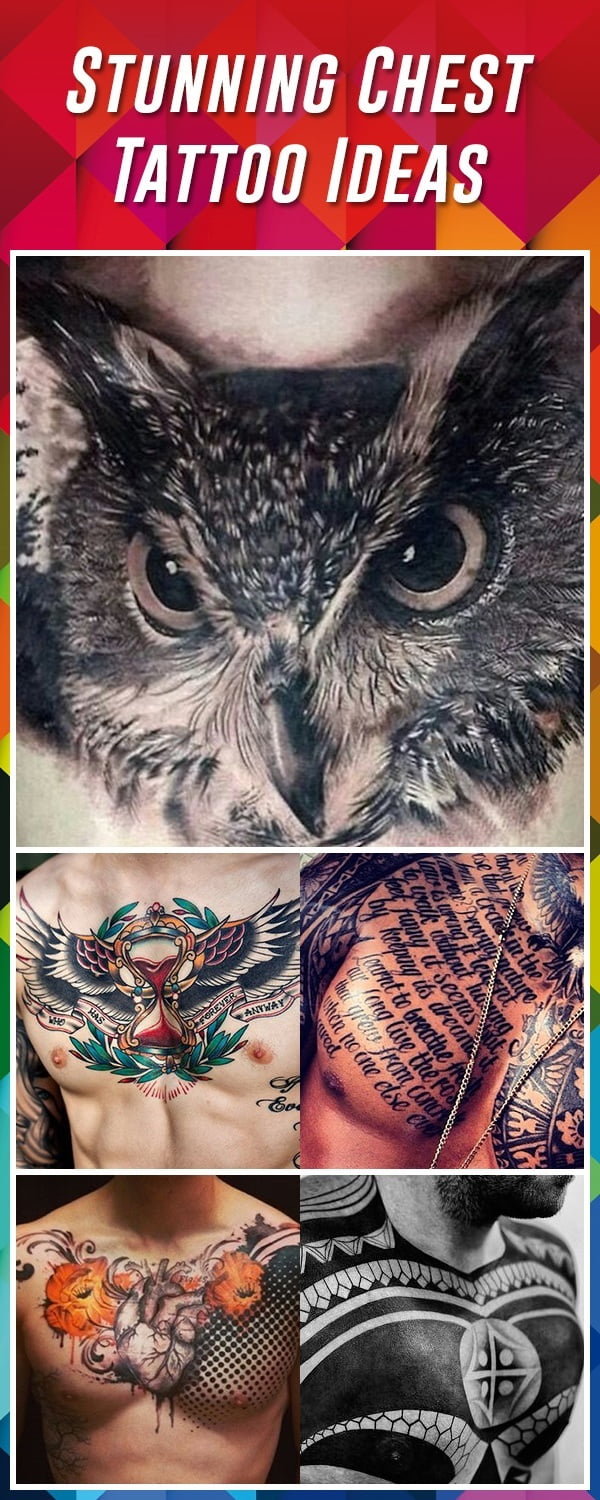 60 Best Chest Tattoos Meanings Ideas And Designs For 2020