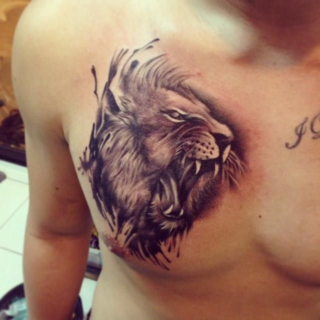 60 best chest tattoos meanings ideas and designs for 2016 for Popular tattoos 2016