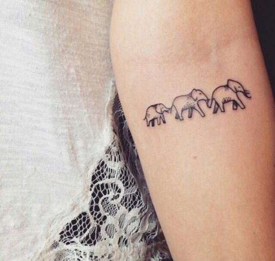 60 best elephant tattoos meanings ideas and designs 2016 for Elephant tattoo meaning family