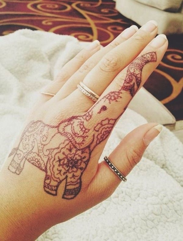 60 best elephant tattoos meanings ideas and designs 2016. Black Bedroom Furniture Sets. Home Design Ideas