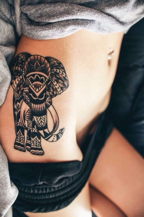60 Best Elephant Tattoos – Meanings, Ideas and Designs 2020