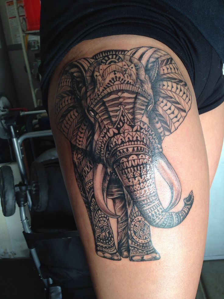 60 Best Elephant Tattoos – Meanings, Ideas and Designs 2019