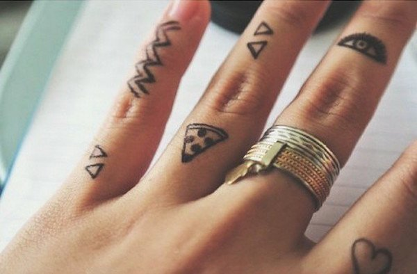 c797ab5b8 60 Best Finger Tattoos – Meanings, Ideas and Designs for 2019