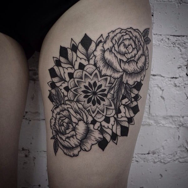 60 Best Flower Tattoos \u2013 Meanings, Ideas and Designs for 2019