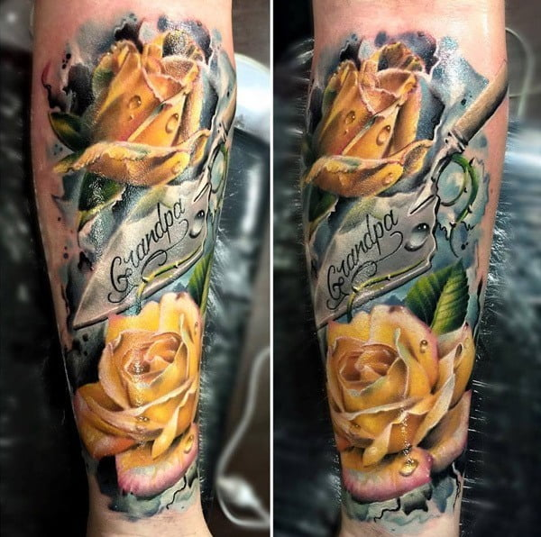 60 best flower tattoos meanings ideas and designs for 2018 flower tattoos 24 mightylinksfo