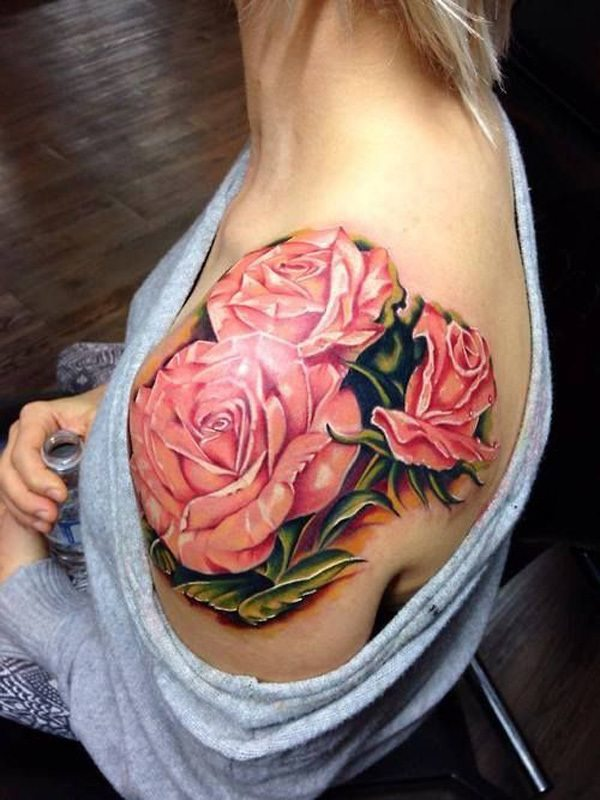 60 best flower tattoos meanings ideas and designs for 2018. Black Bedroom Furniture Sets. Home Design Ideas