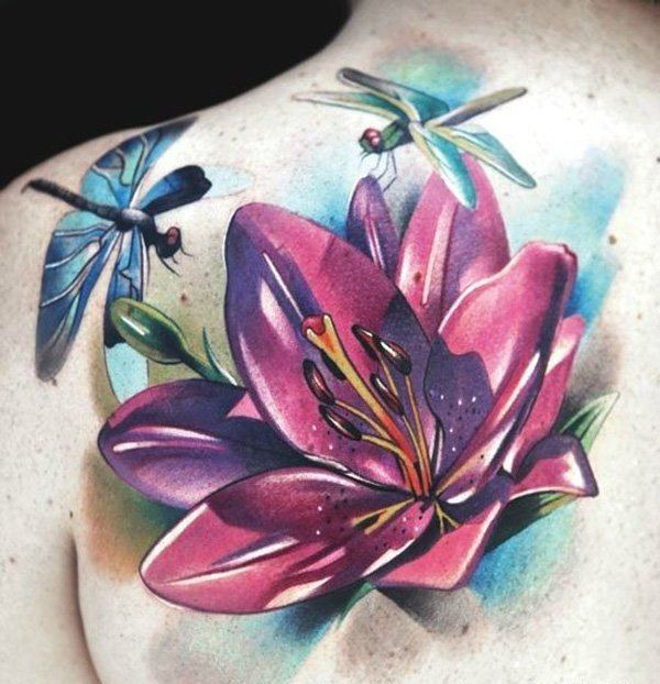 446ac781b 60 Best Flower Tattoos – Meanings, Ideas and Designs for 2019