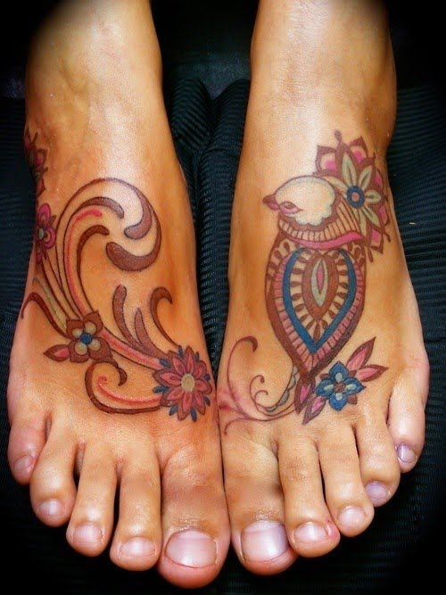 60 Best Foot Tattoos – Meanings, Ideas and Designs for 2017