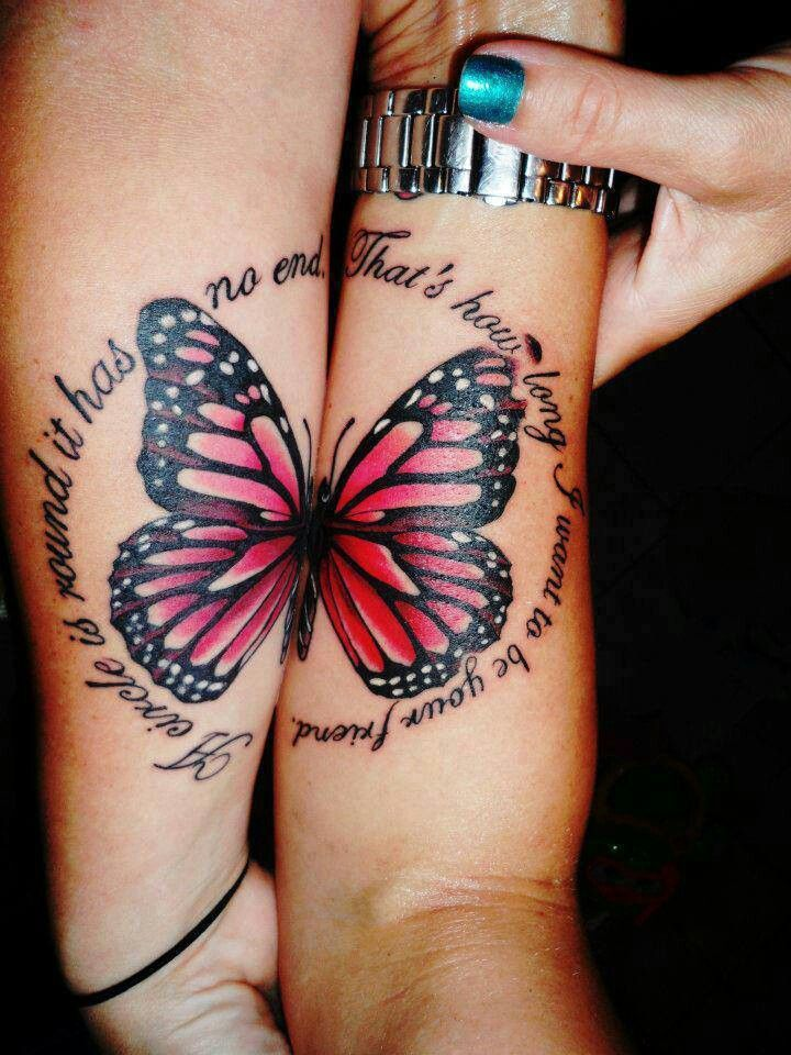 60 best matching tattoos meanings ideas and designs 2018 for Tattoos for best friends with meaning