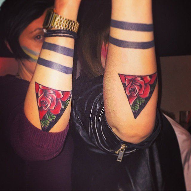 60 best matching tattoos meanings ideas and designs 2016 for Matching friend tattoos