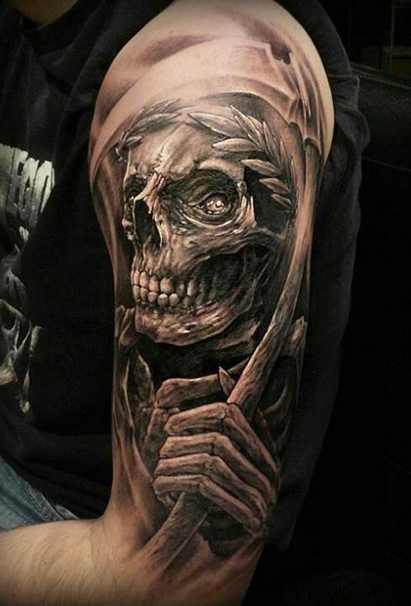 950598828 60 Best Skull Tattoos – Meanings, Ideas and Designs 2019