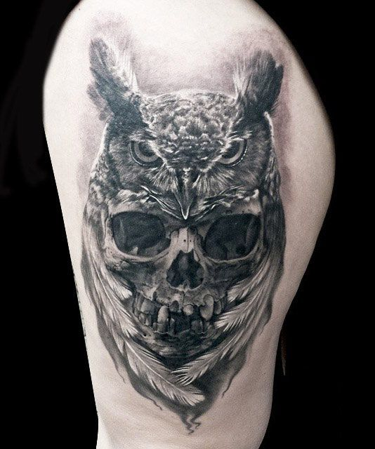 df61b4aaa 60 Best Skull Tattoos – Meanings, Ideas and Designs 2019