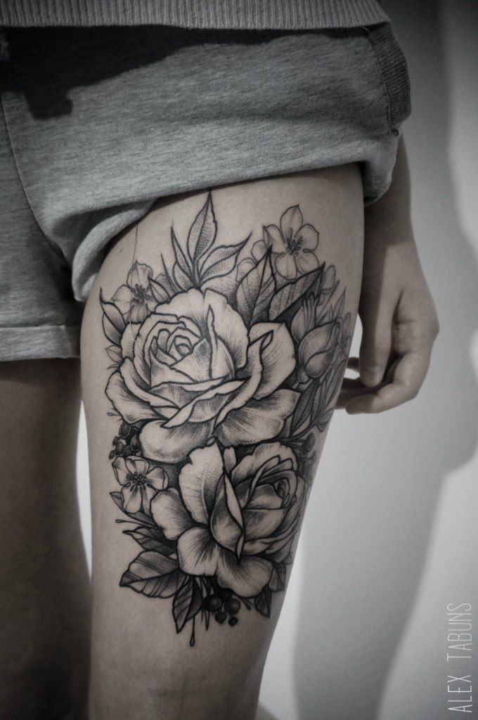 thigh-tattoos-43