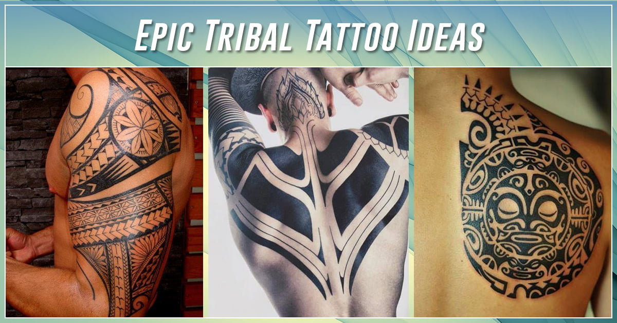 60 best tribal tattoos meanings ideas and designs 2018. Black Bedroom Furniture Sets. Home Design Ideas