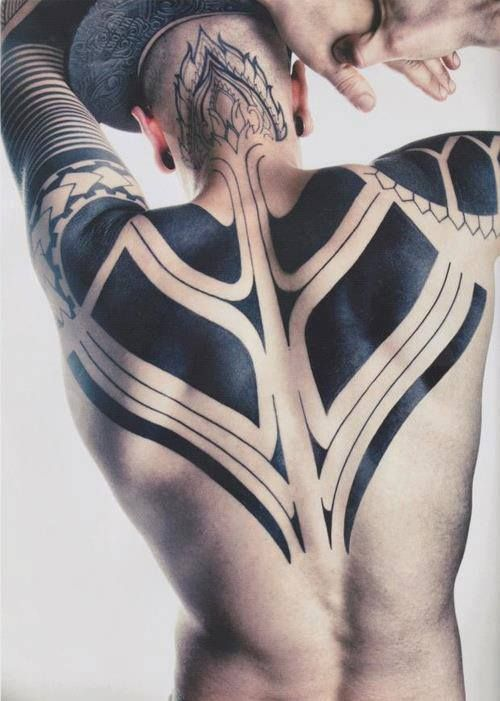 Back Tattoos For Men Tribal Best Tattoo Ideas