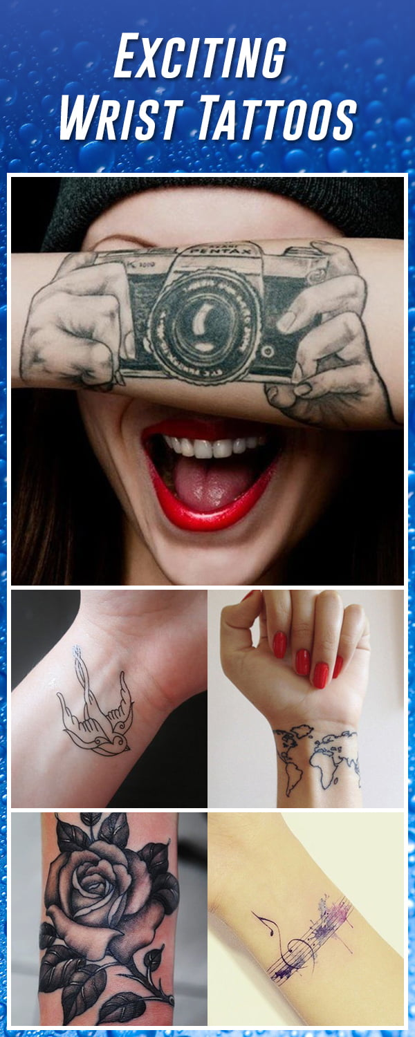 60 Best Wrist Tattoos \u2013 Meanings, Ideas and Designs 2019