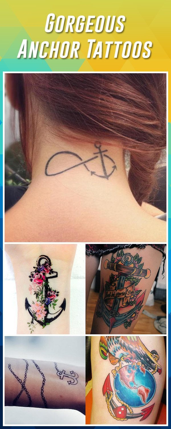 60 Best Anchor Tattoos Ideas And Designs For 2019